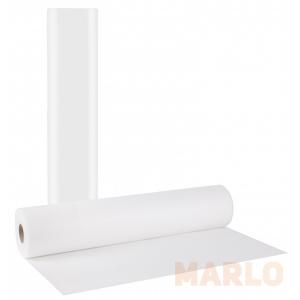 Еднократни хартиени чаршафи на ролка бели 50cm x 70m