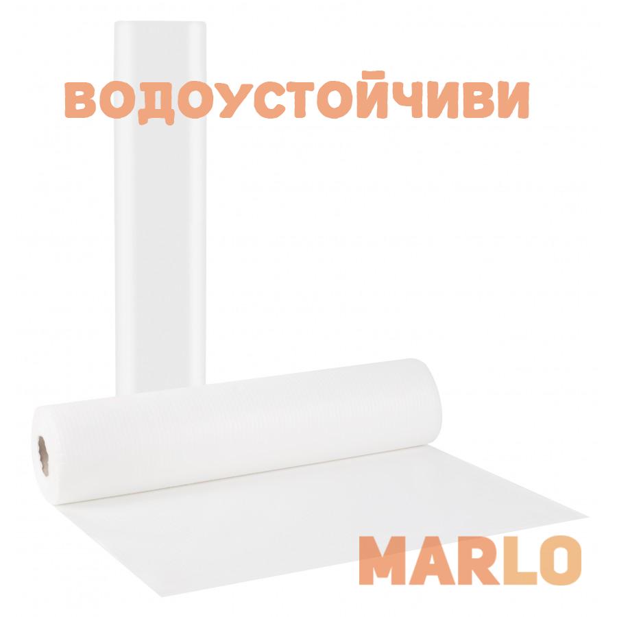 Водоустойчиви Еднократни Термопластични чаршафи на ролка бели – 58cm x 50m