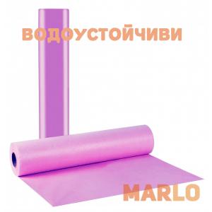 Водоустойчиви Еднократни Термопластични чаршафи на ролка лилав - 68cm x 50m