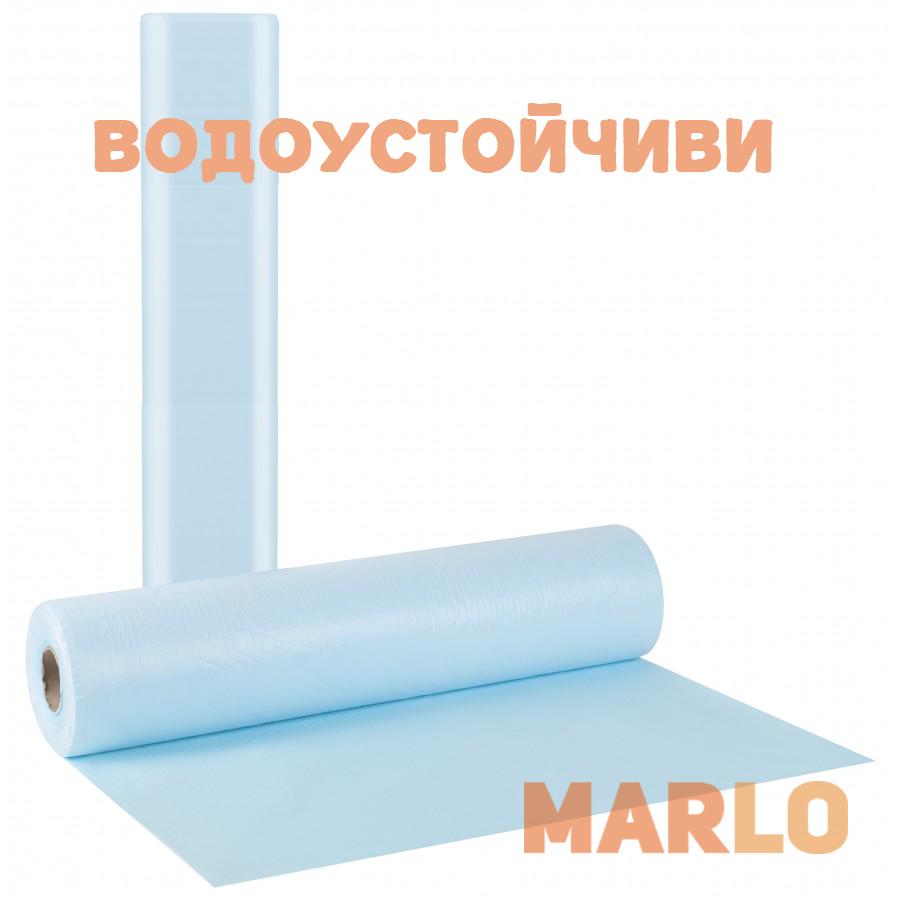 Водоустойчиви Еднократни Термопластични чаршафи на ролка светло син – 58cm x 50m