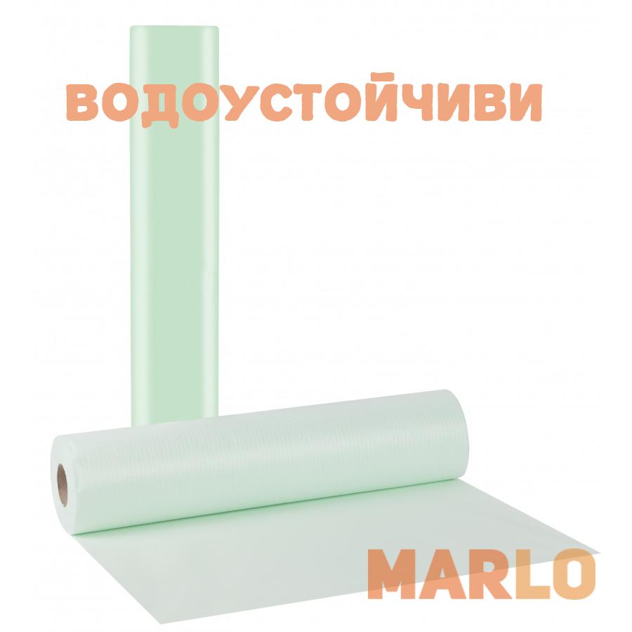 Водоустойчиви Еднократни Термопластични чаршафи на ролка зелен – 68cm x 50m