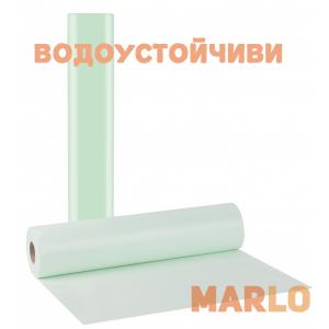 Водоустойчиви Еднократни Термопластични чаршафи на ролка зелен - 58cm x 50m