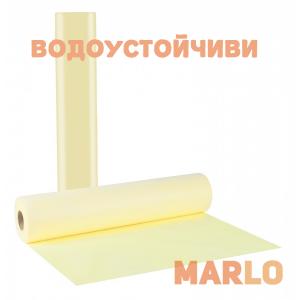 Водоустойчиви Еднократни Термопластични чаршафи на ролка жълт - 58cm x 50m