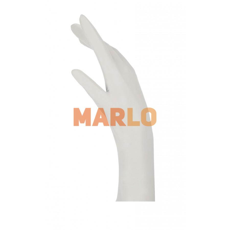 Латексови ръкавици 100 бр Бели