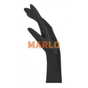 Латексови ръкавици 100 бр Черни