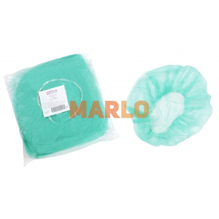 Предпазно боне за глава Зелен