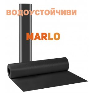 Водоустойчиви Еднократни чаршафи на ролка Черни - 58cm x 50m