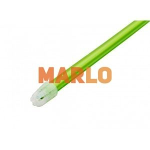Ежектори за слюнка с подвижен капак Зелен
