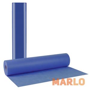 Еднократни TNT чаршафи на ролка тъмно сини 15gr - 68cm x 70m
