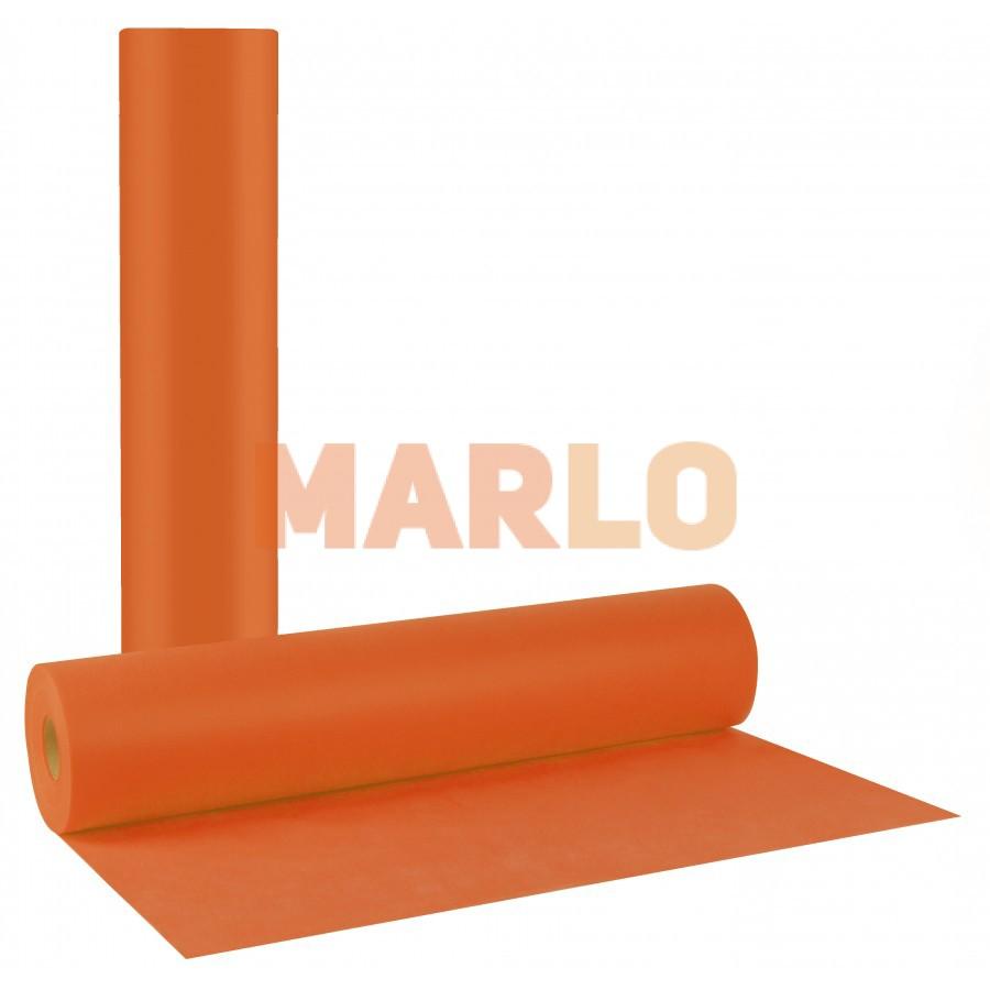 Еднократни TNT чаршафи на ролка Оранжеви 20gr – 58cm x 70m