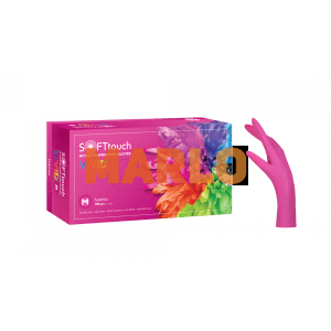 Soft Touch Нитрилни Vivid ръкавици 100 бр - Розови