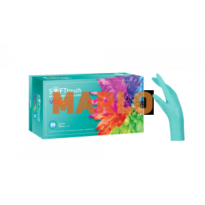 Soft Touch Нитрилни Vivid ръкавици 100 бр - Зелени