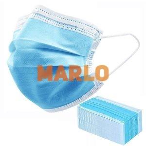 Трипластови маски за многократна употреба с ластик
