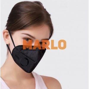 Противовирусна маска kn95 ffp2 N95 Черна