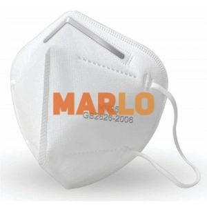 Предпазна маска N95 Бяла