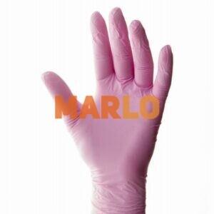 Ръкавиците са плътни с двоен нитрил без пудра